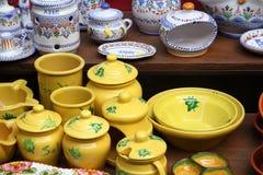 Ceramics store Royalty Free Stock Photography