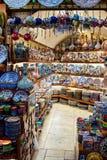 Ceramics store at Grand bazaar in Istanbul Royalty Free Stock Photo