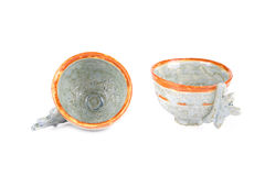 Ceramics tea cups set. Stock Images