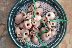 Ceramics from Tunisia Royalty Free Stock Photos