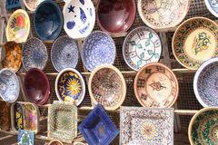 Ceramics from tunisia Stock Photography
