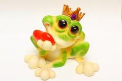 ceramiczna żaba Zdjęcie Stock