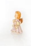 Ceramiczna anioł dziewczyna Obraz Stock