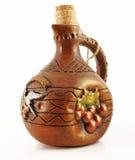 Ceramiczna butelka Zdjęcia Royalty Free
