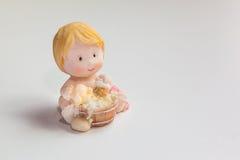 Ceramiczna chłopiec lala obraz royalty free