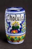 Ceramiczna Cholula Filiżanka Obrazy Stock