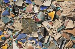 ceramiczna ściana fotografia stock