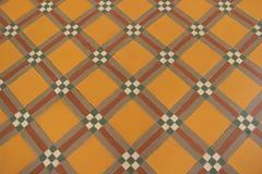 Ceramiczna dachówkowa podłoga Obraz Stock