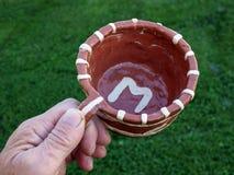 ceramiczna filiżanka Fotografia Royalty Free
