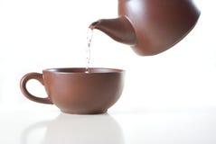 ceramiczna herbata Zdjęcie Royalty Free