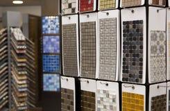 Ceramiczna mozaika w narzędzia sklepie Zdjęcie Stock