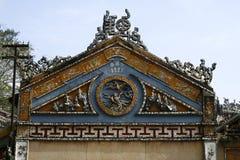 Ceramiczna mozaiki ulgi dekoracja Obraz Royalty Free