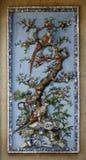 Ceramiczna mozaiki ulgi dekoracja Zdjęcie Royalty Free