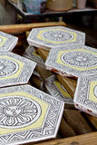 Ceramiczna płytka Fotografia Royalty Free