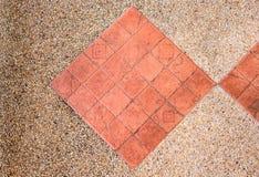 Ceramiczna podłogowych płytek zbliżenia tekstura Obraz Royalty Free