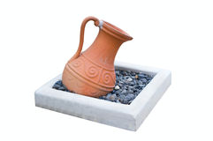 ceramiczna stara waza Fotografia Stock