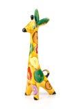 ceramiczna żyrafa Zdjęcie Royalty Free