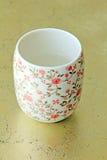 Ceramiczne filiżanki Zdjęcia Royalty Free
