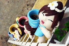 Ceramiczne lale Zdjęcie Stock