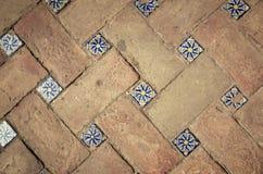 Ceramiczne płytki z powodu Sevilla obrazy stock