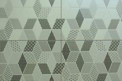 Ceramiczne płytki z ornamentami Mozaika, ceramiczne płytki dla kuchni, abstrakta wzór obrazy stock