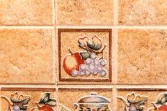 Ceramiczne płytki Obrazy Royalty Free