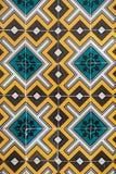 Ceramiczne płytki Azulejo Portugalia Obrazy Royalty Free