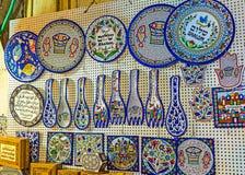 Ceramiczne pamiątki Zdjęcia Royalty Free