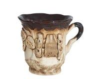 ceramicznej filiżanki odosobniona herbata Obrazy Royalty Free