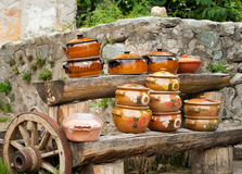 Ceramiczni Garnki Obraz Stock