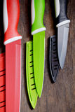 Ceramiczni knifes Zdjęcia Stock
