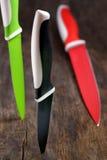 Ceramiczni knifes Zdjęcie Stock