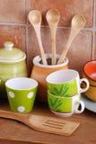 ceramiczni kuchenni narzędzia Obrazy Stock