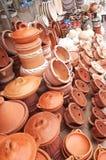 Ceramiczni naczynia fotografia stock