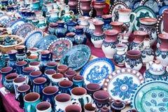 Ceramiczni przedmioty zdjęcie stock