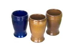 ceramiczni szkła Zdjęcia Royalty Free