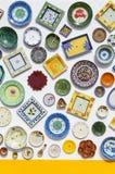 Ceramiczni talerze Zdjęcie Stock