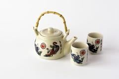 Ceramiczny chiński herbata set Zdjęcie Stock