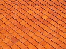 Ceramiczny dach skala kształt Zdjęcie Stock