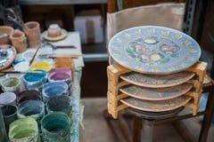 Ceramiczny dekorować Fotografia Stock