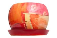 ceramiczny flowerpot Obrazy Stock