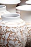 Ceramiczny garnek Zdjęcie Stock