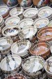 Ceramiczny garnek Zdjęcia Royalty Free