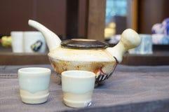 Ceramiczny herbata set zdjęcie stock