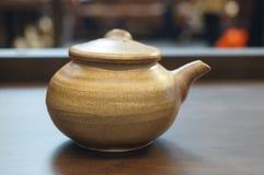 Ceramiczny herbata set zdjęcie royalty free
