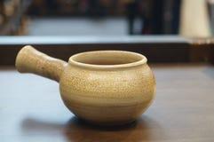 Ceramiczny herbata set obraz royalty free