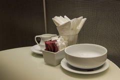 ceramiczny kawowy set Fotografia Royalty Free