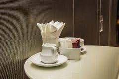 ceramiczny kawowy set Fotografia Stock