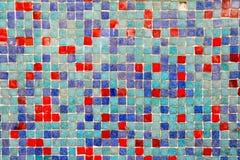 Ceramiczny kolorowy płytki mozaiki składu wzoru tło obraz royalty free