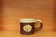 Ceramiczny kubek Zdjęcia Royalty Free